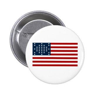 33 Star Fort Sumter American Civil War Flag Buttons