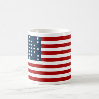 33 Star Fort Sumter American Civil War Flag Basic White Mug