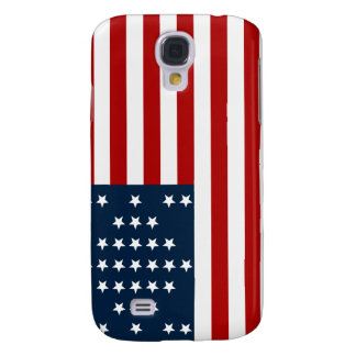 33 Star Fort Sumter American Civil War Flag Samsung Galaxy S4 Cover