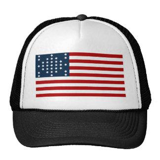 33 Star Fort Sumter American Civil War Flag Hat