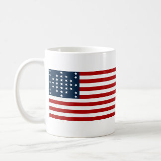 33 Star Fort Sumter American Civil War Flag Coffee Mug