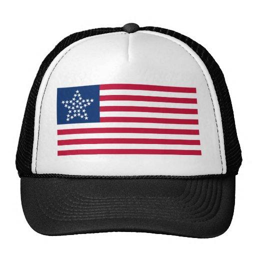 33 Star Great Star Oregon State American Flag Hat