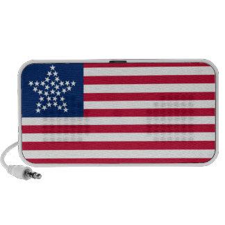 33 Star Great Star Oregon State American Flag Laptop Speakers