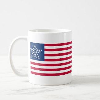 33 Star Great Star Oregon State American Flag Classic White Coffee Mug
