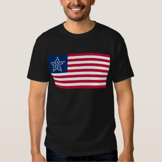 33 Star Great Star Oregon State American Flag Tee Shirts
