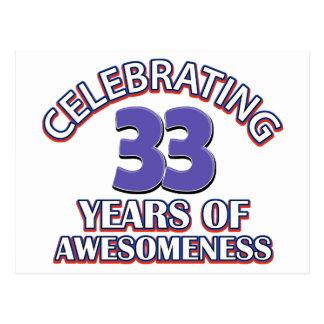 Happy Birthday Veya 33_year_old_birthday_designs_and_gifts_postcard-rc304b6ca868d46108ac88c4400023c1b_vgbaq_8byvr_324