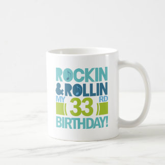 33rd Birthday Gift Ideas Coffee Mug