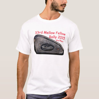33rd Mellow Fellow Rally 2015 T-Shirt
