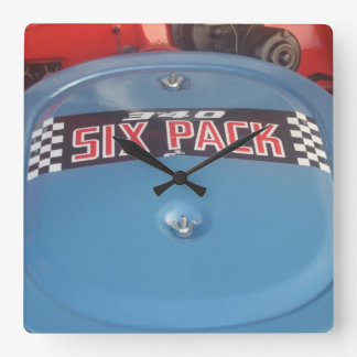 340 Six Pack Decal on a Dodge Dart Swinger Clock