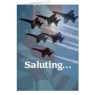 3434 Blue Angels Salute Cards