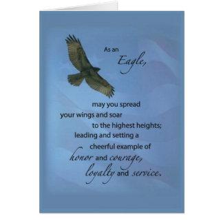 3497 Eagle Award Soar Card