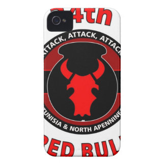 34TH INFANTRY DIVISION RED BULL iPhone 4 CASES