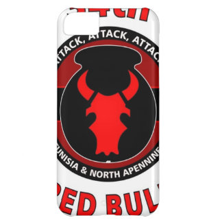 """34TH INFANTRY DIVISION"""" RED BULL"""" iPhone 5C CASE"""