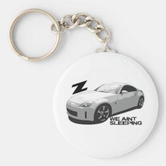 350Z Aint sleeping Basic Round Button Key Ring