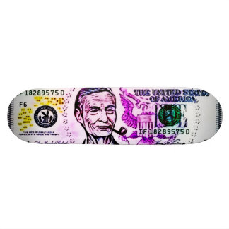 357 Huey Stealth Graffiti Airbrush Trick Deck Skateboard
