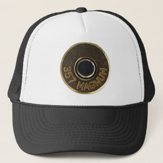 357 Magnum brass shell casing Trucker Hat