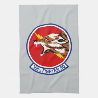 358th Fighter Squadron Tea Towels
