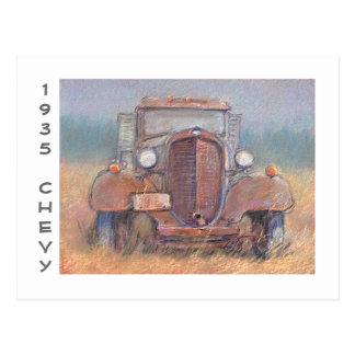 '35  Chevy Truck Postcard