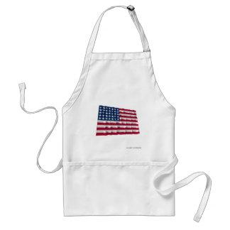 35-star flag apron