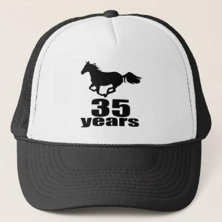 35 Years Birthday Designs Trucker Hat