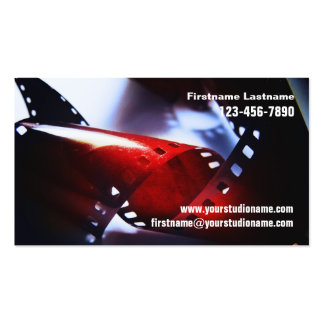 35mm film Business Card
