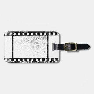 35mm Film Luggage Tag