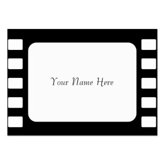 35mm Film, Your Name Here Business Cards