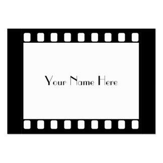 35mm Film, Your Name Here Pack Of Chubby Business Cards