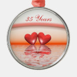 35th Anniversary Coral Hearts