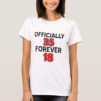 35TH birthday designs T-Shirt