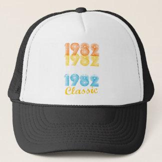 35th Birthday Gift Vintage 1982 T-Shirt for Men Trucker Hat