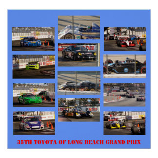 35th TOYOTA of Long Beach Grand Prix Poster
