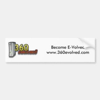 360 Evolved Bumper Sticker