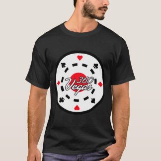 360 Vegas Bold Chip Logo T-Shirt