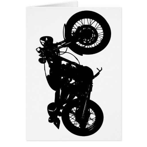 361 Cafe Racer Greeting Card