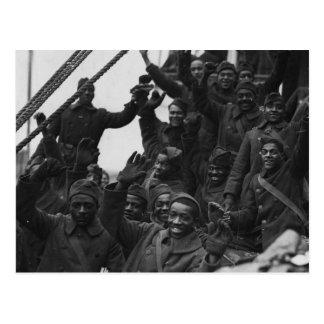 369th New York National Guard Infantry Regiment Postcard