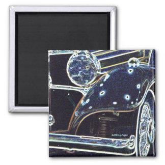'36 Benz 2' Square Magnet