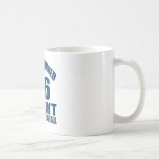 36 Birthday Designs Coffee Mug