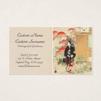 36 Examples of Beauties, Tea ceremony Toshikata