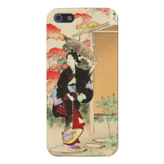 36 Examples of Beauties, Tea ceremony Toshikata Cover For iPhone 5/5S
