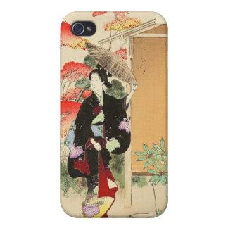 36 Examples of Beauties Tea ceremony Toshikata iPhone 4/4S Cases
