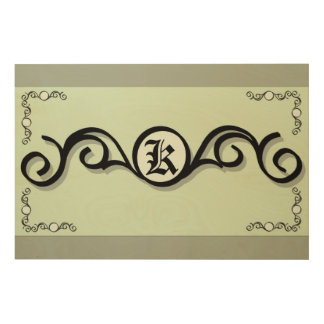 "36""x24"" Wood Photo Print IRONWORK SCROLLWORK 1 Wood Prints"