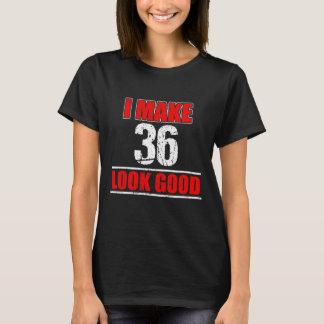 36 Years Old Birthday Gift. Great Costume. T-Shirt