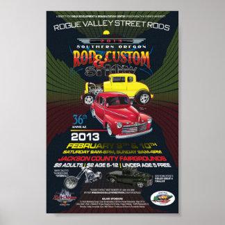 36th Annual SO Rod & Custom Show Canvas Poster