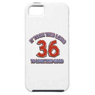 36th birthday design iPhone 5 cases