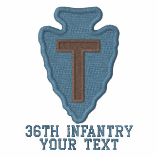 36th Infantry Embroidered Shirts