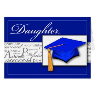 3727 Daughter Graduation Words Card