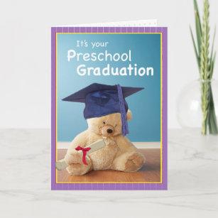 3746 Preschool Graduation Card