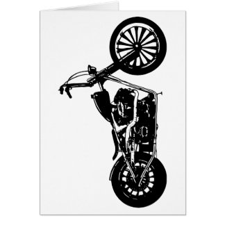 374 Chopper Bike Card