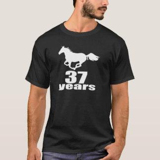 37 Years Birthday Designs T-Shirt